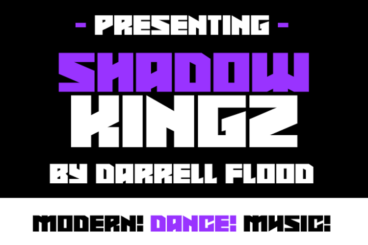 Shadowkingz Font