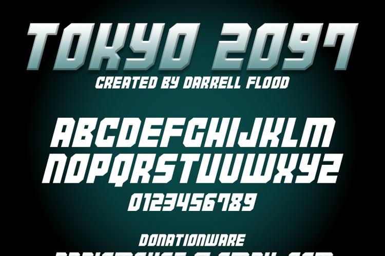 Tokyo 2097 Font