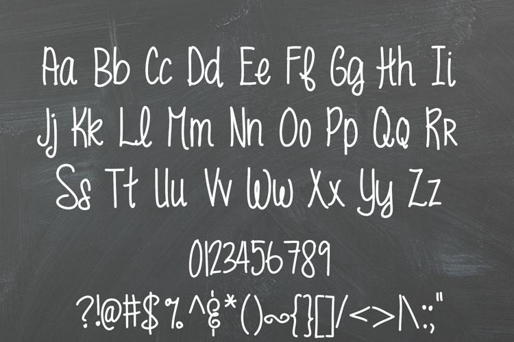 MRF funky fresh Font