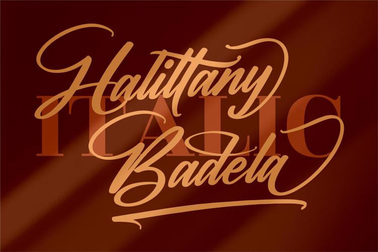 Halittany Badela Font