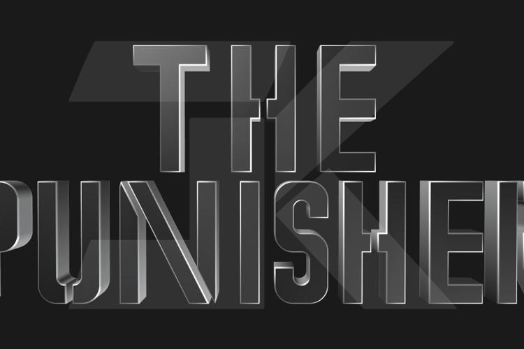 Marvel's The Punisher Font