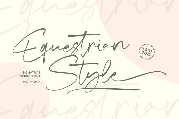 Equestrian Style Font