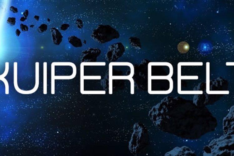 Kuiper Belt Font