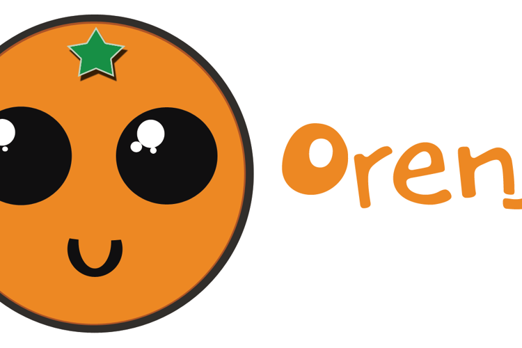 DK Orenji Font