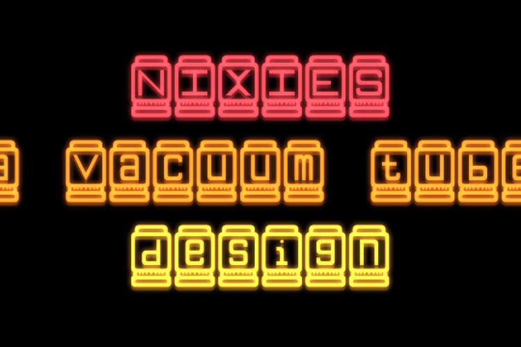 Nixies Font