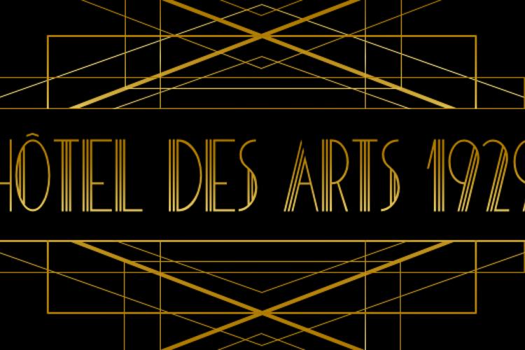 HOTEL DES ARTS 1929 Font