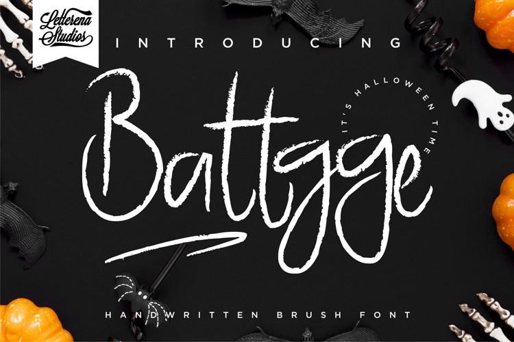 Battgge Font