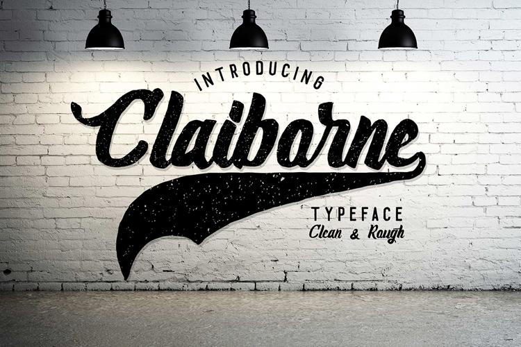 Claiborne Font