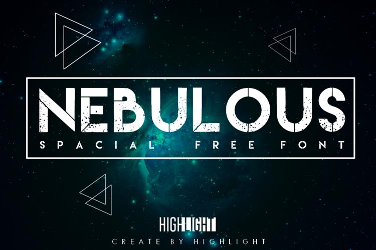 Nebulous Font
