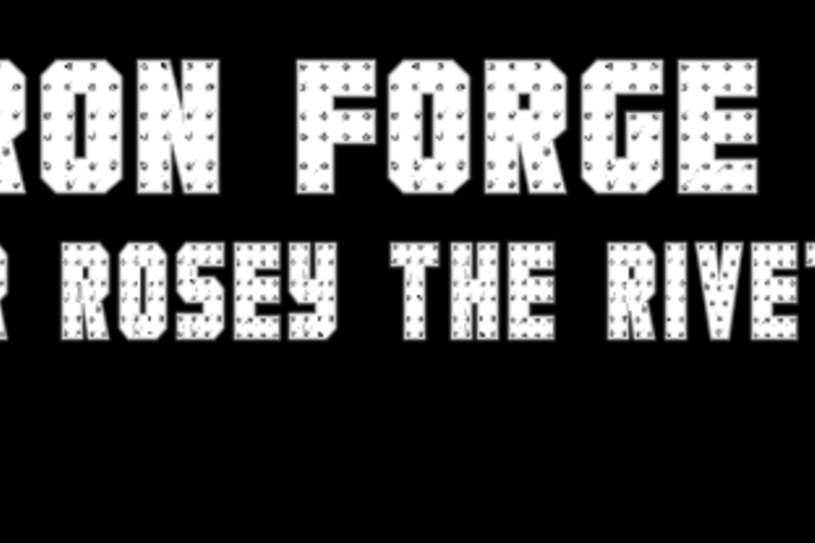 Iron Forge Font