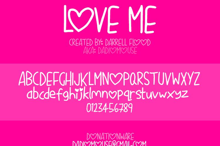 Love Me Font