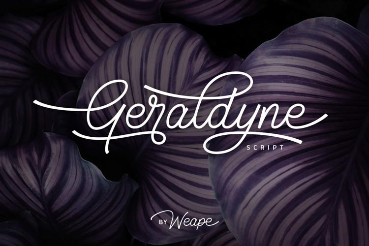 Geraldyne Font