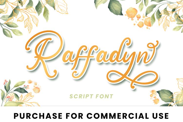 Raffadyn Font