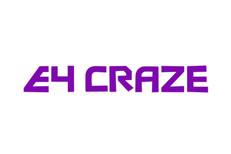 E4 Craze Font