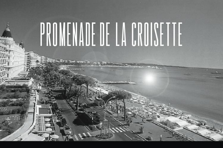 Promenade de la Croisette Font