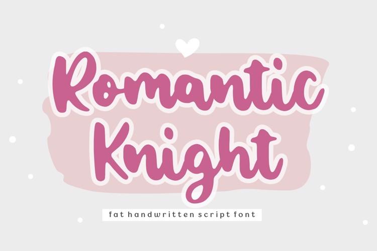Romantic Knight Font
