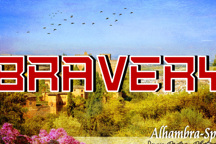 Bravery Font