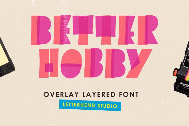 Better Hobby Font