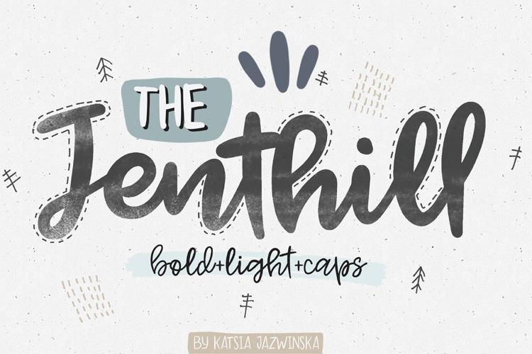 Jenthill Font