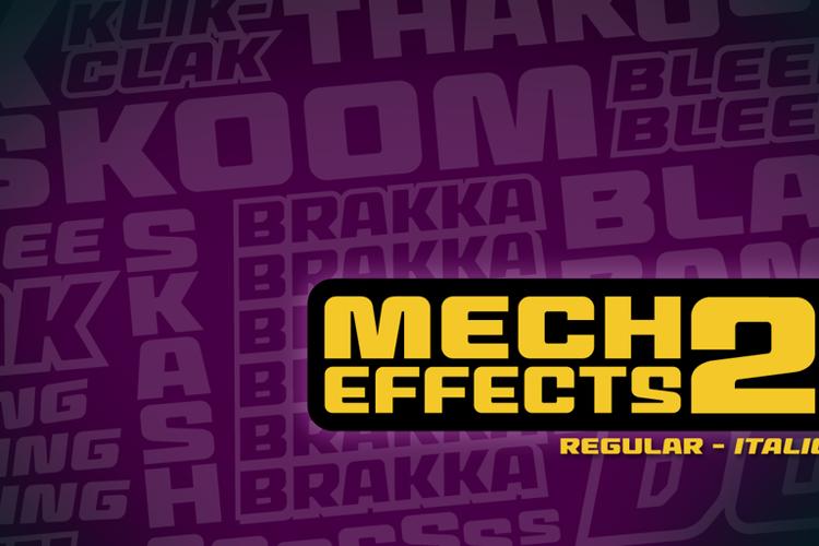 MechEffects2 BB Font