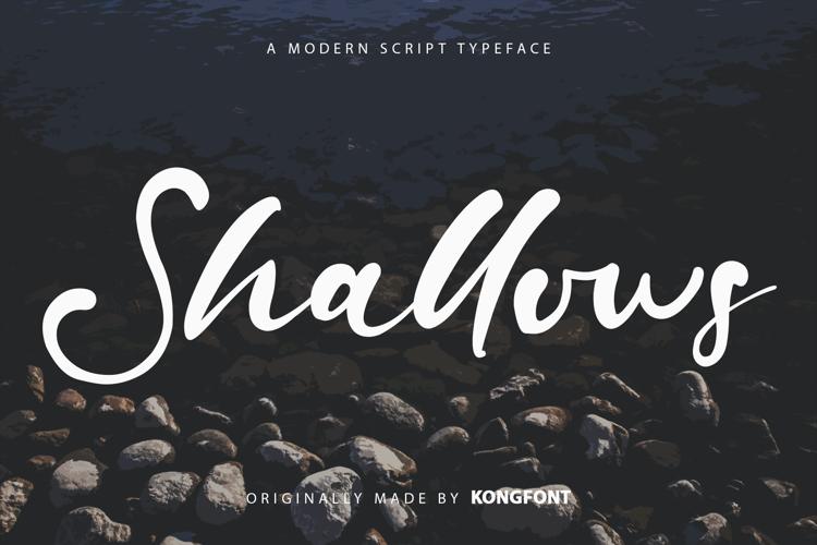 Shallows Font
