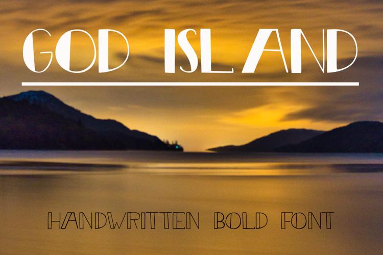 God Island Font