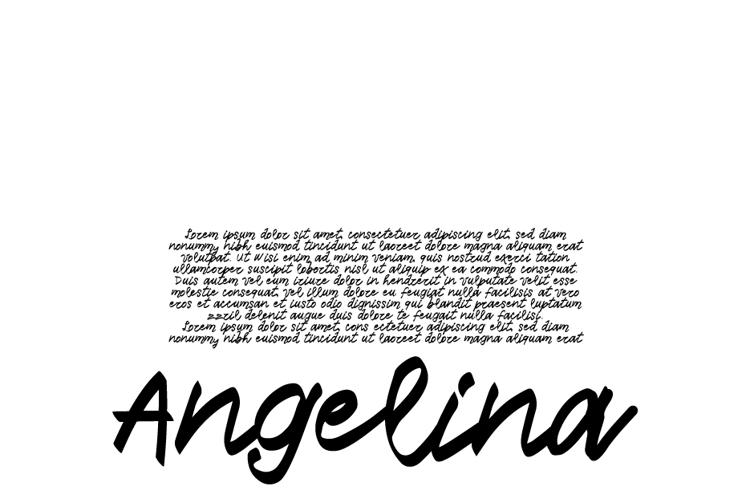 Vtks Angelina Font