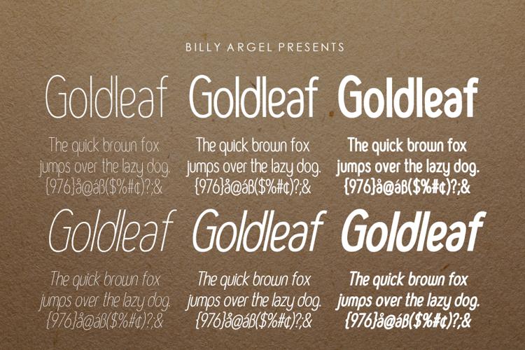 GOLDLEAF Font