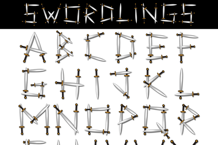 Swordlings Font