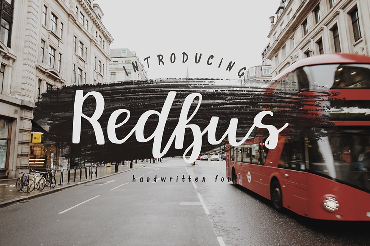 Redbus Font
