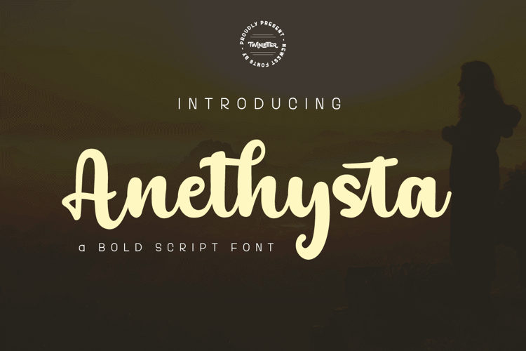 Anethysta Personal Font