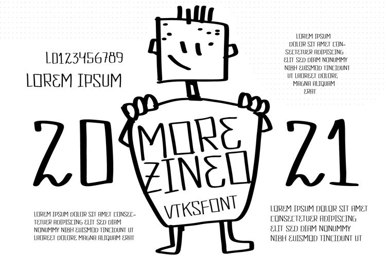 Vtks Morezineo Font