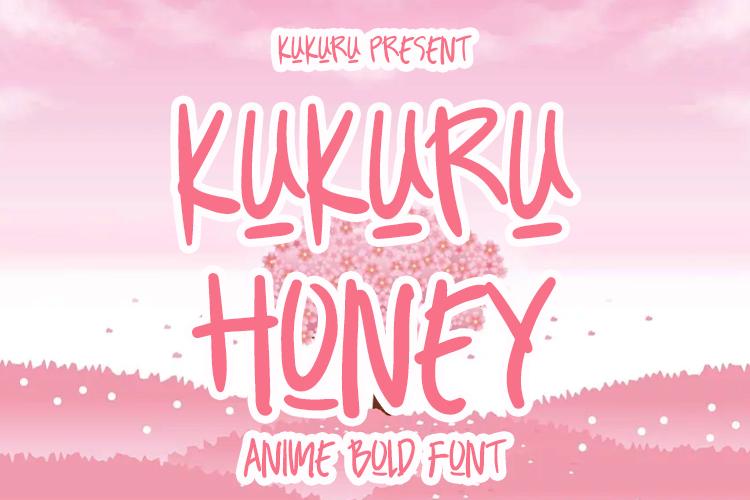 KUKURU HONEY Font