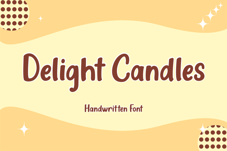 Delight Candles Font