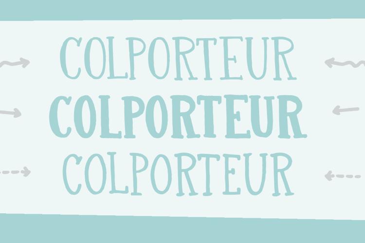 DK Colporteur Fat Font