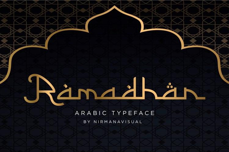 Ramadhan Font