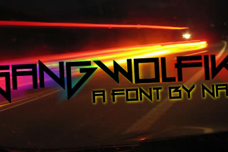 Gang Wolfik Font