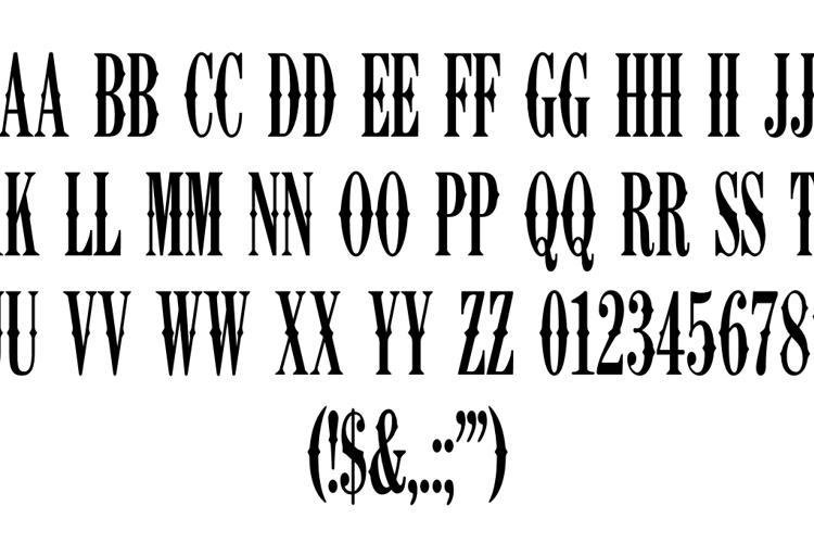 K22 Ambelyn Condensed Font