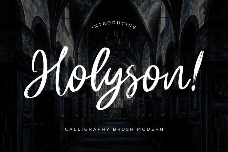Holyson Font