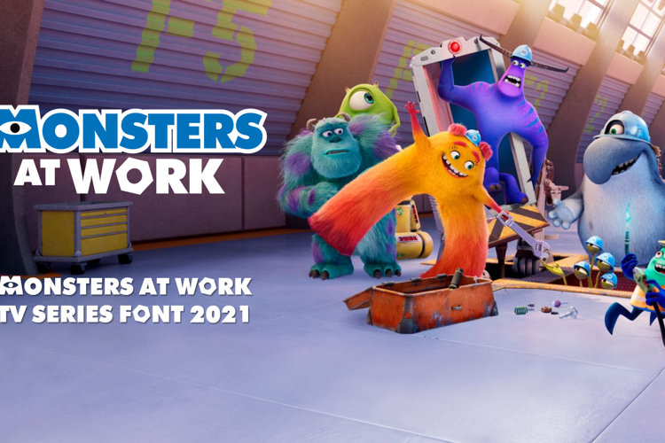 Monsters at Work Font