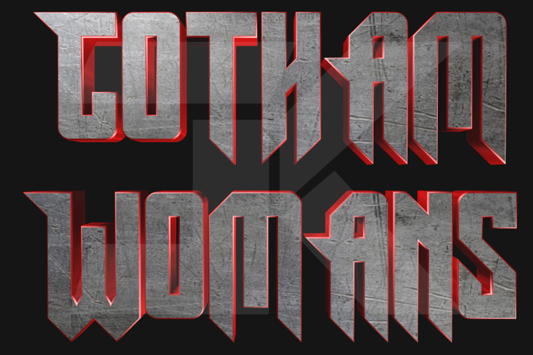 Gotham Womans Font