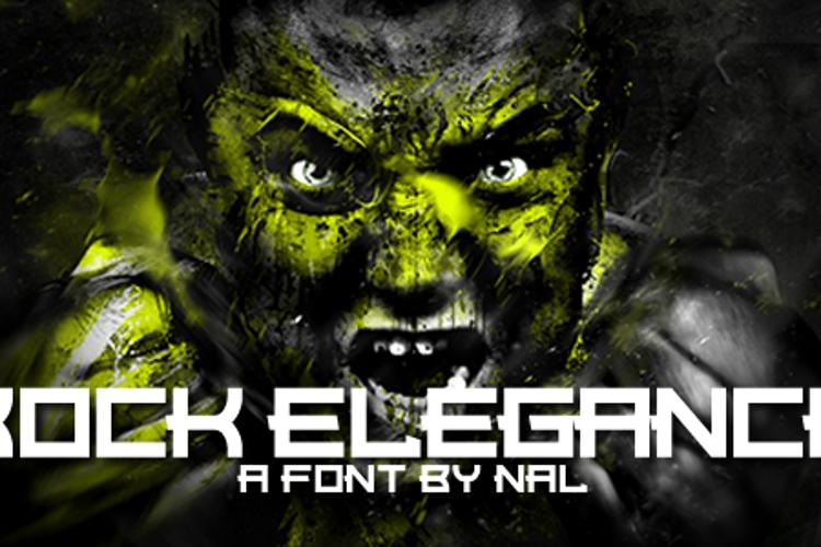 Rock Elegance Font