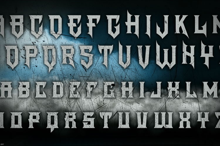 The Darkest Night Font