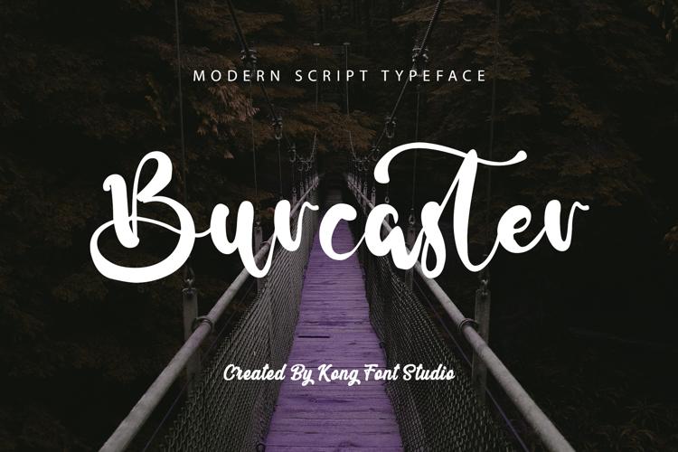 Burcaster Font