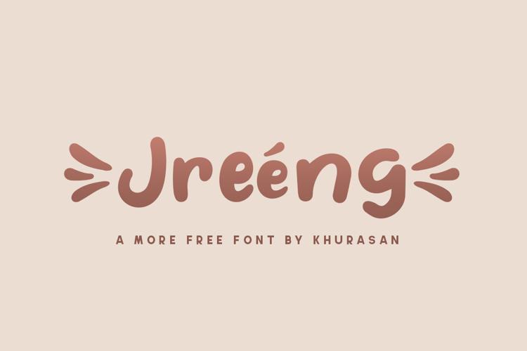 Jreeng Font