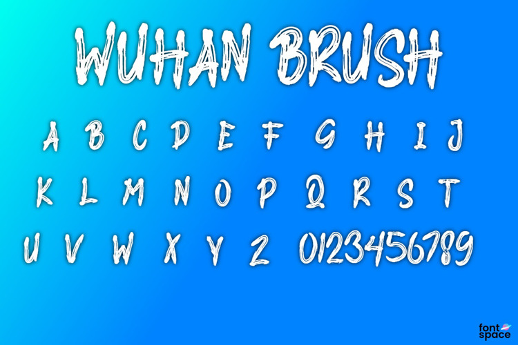 WUHAN BRUSH Font