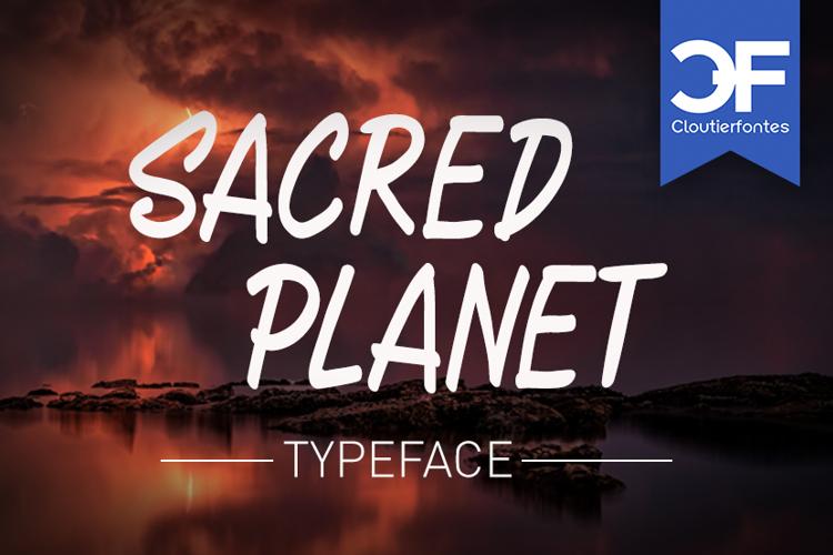 CF Sacred Planet Font