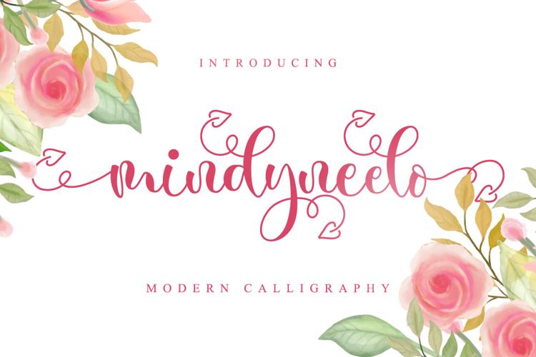 Mindyneelo Font