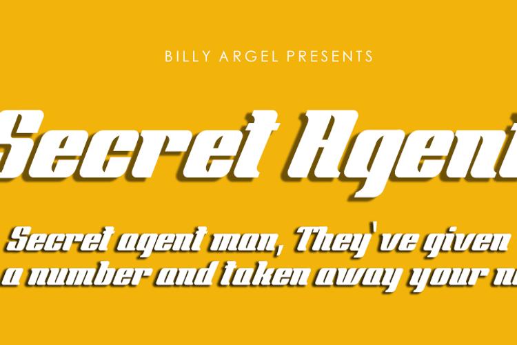 Secret Agent Font