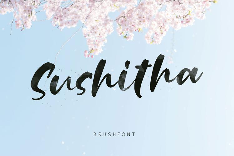 Sushitha Font